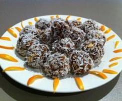 Zesty Date and Almond Balls