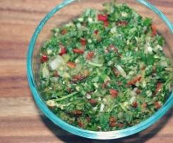 Pebre - Chilean Chile Pepper Salsa
