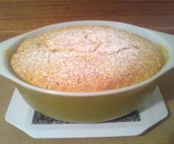 Orange Almond Self Saucing Pudding