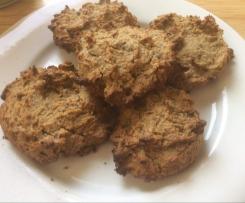Flourless Choc Nut Cookies Sugar Free