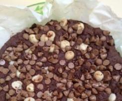 Flourless Red Kidney Bean Brownies