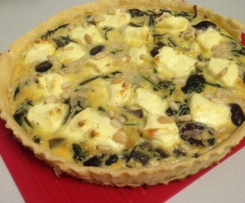Spinach and Olive Tart