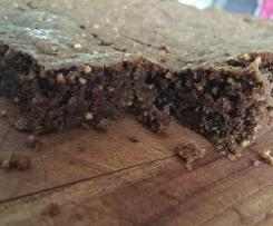 Choc Quinoa Brownie