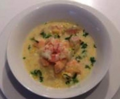 Prawn or Seafood Chowder