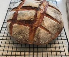 Basic Sour Dough Bread