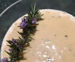 Rosemary Custard - JJ's Spicy Thermo Kitchen