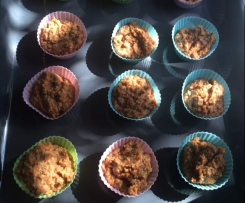 Paleo Carrot Cupcakes