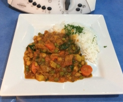 Huldah's Chickpea Curry
