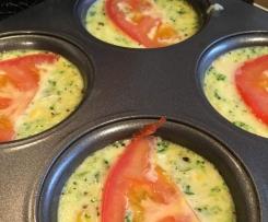 Vegetarian Mini Muffin Quiches