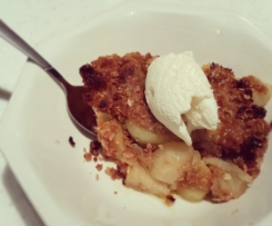 ANZAC Apple Crumble