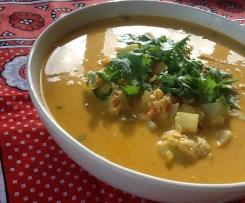 Mchuzi Wa Kuku - Zanzibari Coconut Chicken Curry