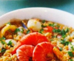 "Seafood rice ""Arroz de Marisco"""