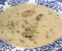 Low Carb Clone of Mushroom soup