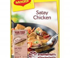 Creamy Satay Chicken Risotto