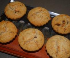 Apricot Oat Bran Muffins