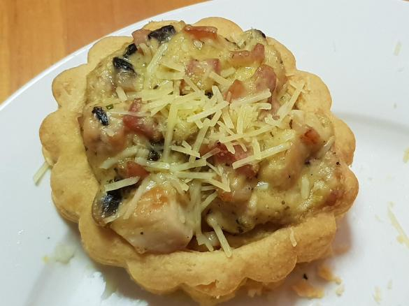 Creamy Chicken Bacon And Mushroom Vol Au Vents By Steph2oli A