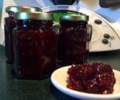 Strawberry,Raspberrry & Rosewater Jam