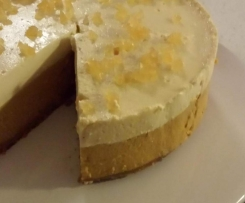 Spicy Pumpkin and Ginger Cheesecake