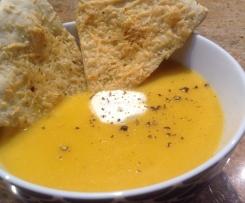Zucchini and Sweet Potato Soup