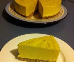 Raw Mango Lime Cheesecake