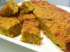 Zucchini Slice with Bacon, Carrot & Curry Powder