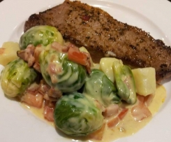 Carola's Brussels Sprout Delight