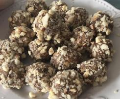 Salted Caramel & Macadamia Bliss Balls