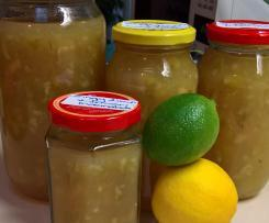Zingy lime and lemon marmalade