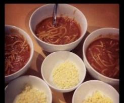 Not so Tinned Spaghetti