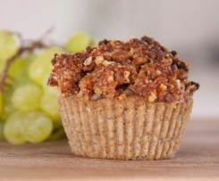 Apple & Zucchini Muffins (from Deliciously Ella)