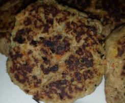 Healthy hamburger patties/rissoles