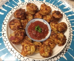 Pizza Puff Muffins