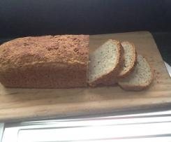 Variation Sprouted Buckwheat Bread