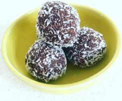 Peppermint Mint Choc Chip Bliss Balls