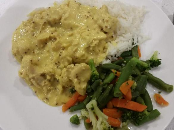 Honey Mustard Chicken By Ms Stevie A Thermomix Sup Sup Recipe In The Category Main Dishes Meat On Www Recipecommunity Com Au The Thermomix Sup Sup Community
