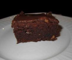 Dark & White Chocolate Brownies with Raspberries