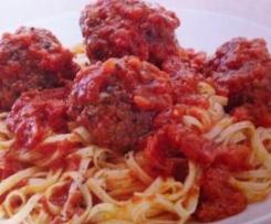 Muma Mutembos Meat Balls ( gluten free, lactose free, fructose friendley)
