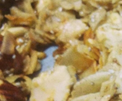 Sarah Wilson's coco-nutty crunchy museli