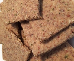 Almond crackers (grain free)