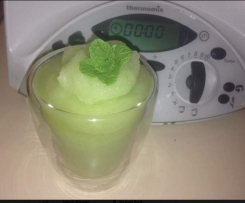 Charlene's frozen Lychee Champagne Mojito's