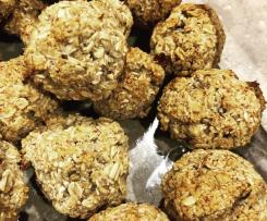 Banana oat cookies (dairy free, egg free, nut free)