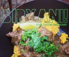 Biryani | Beef. Chicken. Lamb. Vegetarian