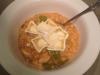Chicken, Snow Pea, Mushroom & Brie Risotto