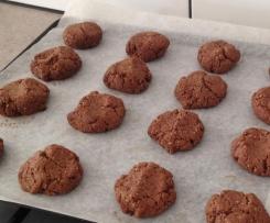 Choc ripple biscuits