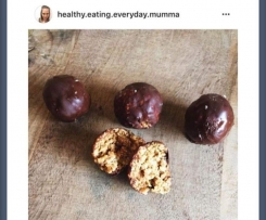 Healthy Salted Caramel Bliss Balls