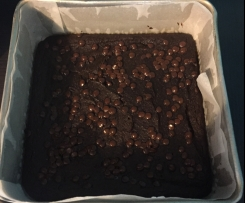Double Chocolate Avocado Brownies GF