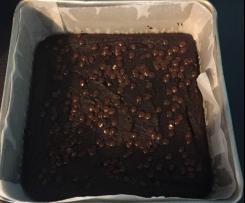 Double Chocolate Avocado Brownies GF