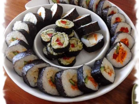Healthier Japanese Sushi Rice By Mutenkasarasa A Thermomix Sup Sup Recipe In The Category Pasta Rice Dishes On Www Recipecommunity Com Au The Thermomix Sup Sup Community