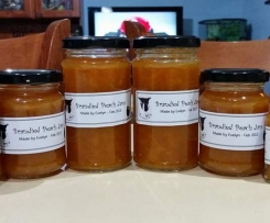 Brandied Peach or Apricot Jam