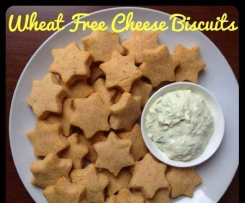 Wheat Free Cheese Biscuits
